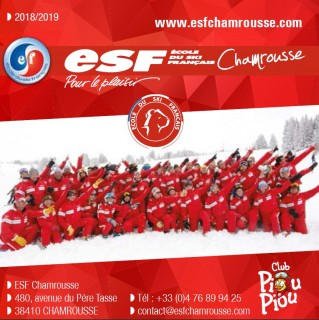 Brochure ESF Chamrousse hiver 2017-2018