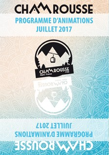 Programme Animations - Juillet 2017
