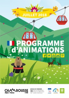 Programme Animations - Juillet 2018