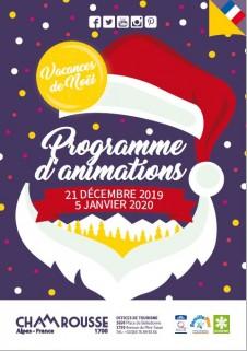 Programme Animations - Décembre 2019