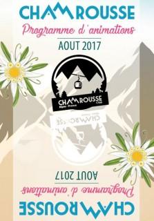 Programme Animations - Août 2017
