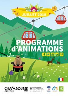 Programme Animations Août été 2018