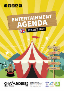 Entertainment programme - August 2019