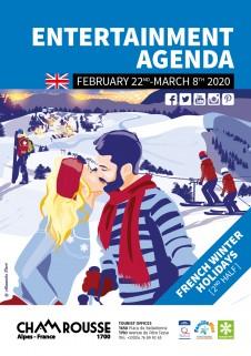 Entertainment programme - February 2nd part 2020