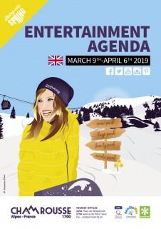 Entertainment programme - March 2019