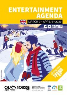 Entertainment programme - March 2020