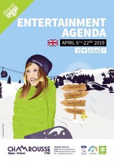 Entertainment programme - April 2019