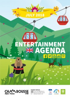 Entertainment programme - July 2018