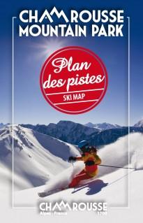 Plan des pistes (alpin, nordique, raquettes) hiver 2016-2017