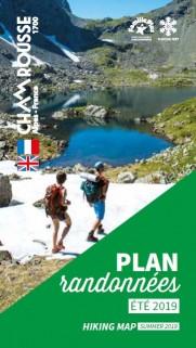 Plan des randonnées été 2019