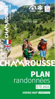 Hiking map summer 2021