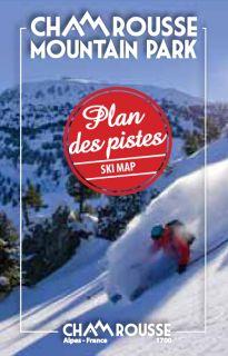 Plan des pistes (alpin, nordique, raquettes) hiver 2015-2016