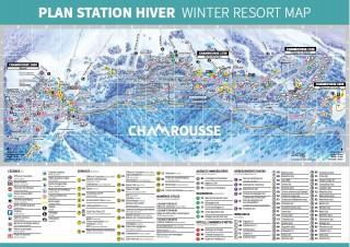 Plan station hiver