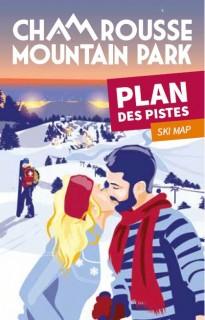Winter ski map (alpine, nordic, snowshoeing) 2019-20