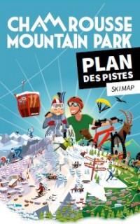 Winter ski map (alpine, nordic, snowshoeing) 2020-21