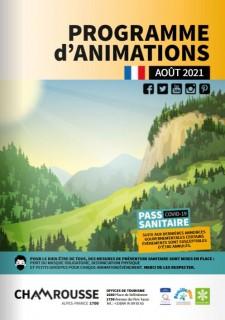Programme d'animations Août 21