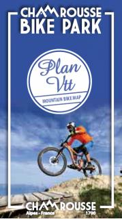 Mountain biking map summer 2018
