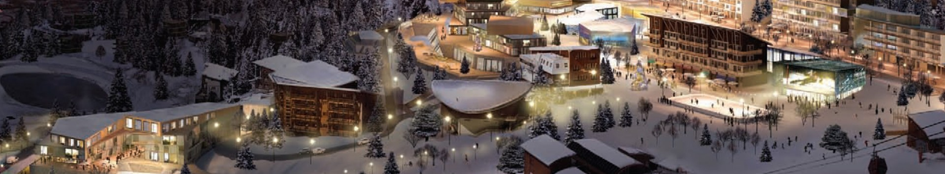 Chamrousse urban planning project 2030