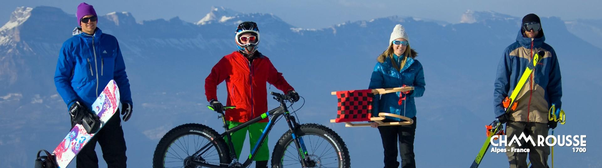 Winter Aktivitäten in Chamrousse