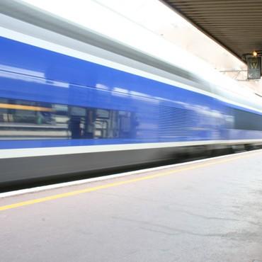 Accès station - train