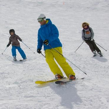 Alpine ski slopes and lifts opening