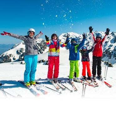 Chamrousse alpine ski area