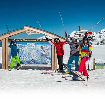 Alpine ski slopes and lifts opening