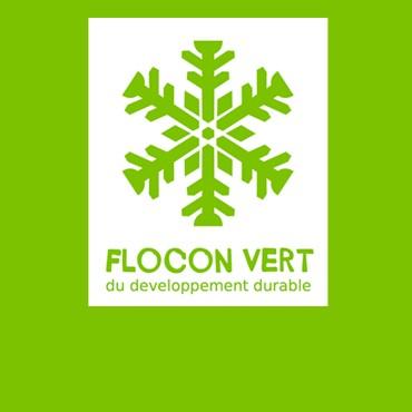 Sustainable development - Flocon Vert label