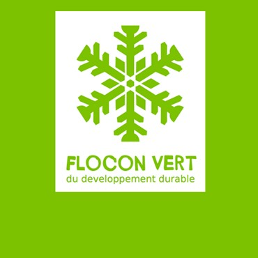 """Flocon Vert"" - environment label"