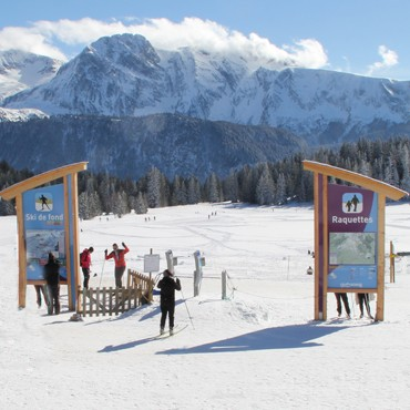 location ski fond chamrousse