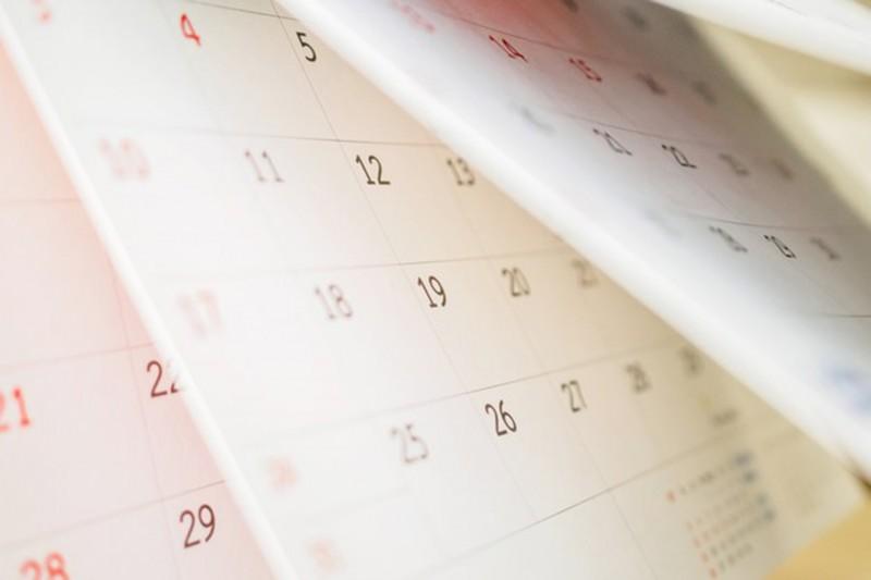 Kalender für Zeitvertreib