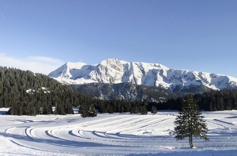 Ouverture des pistes ski de fond