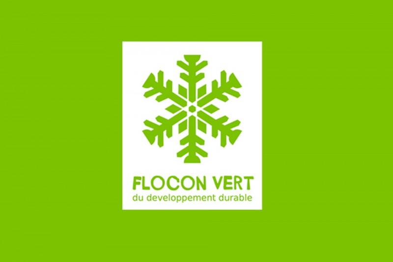 """Flocon Vert"" - environment label"