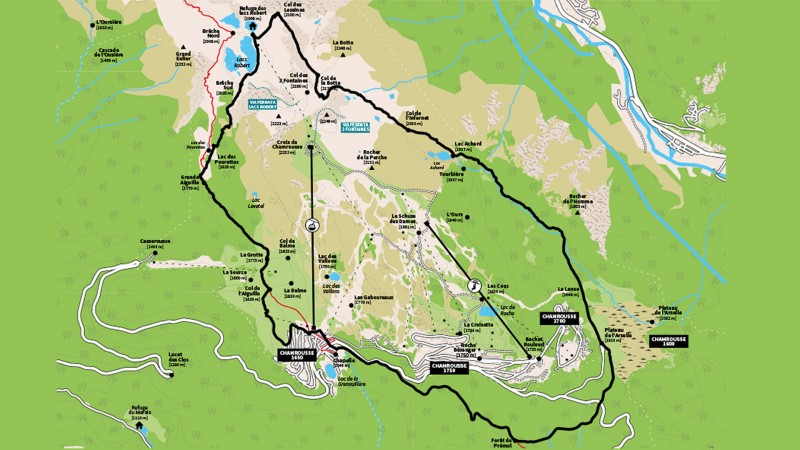 Plan trails