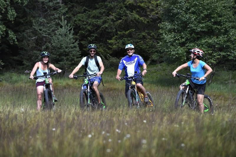 Sorties vélo accompagnées et stages