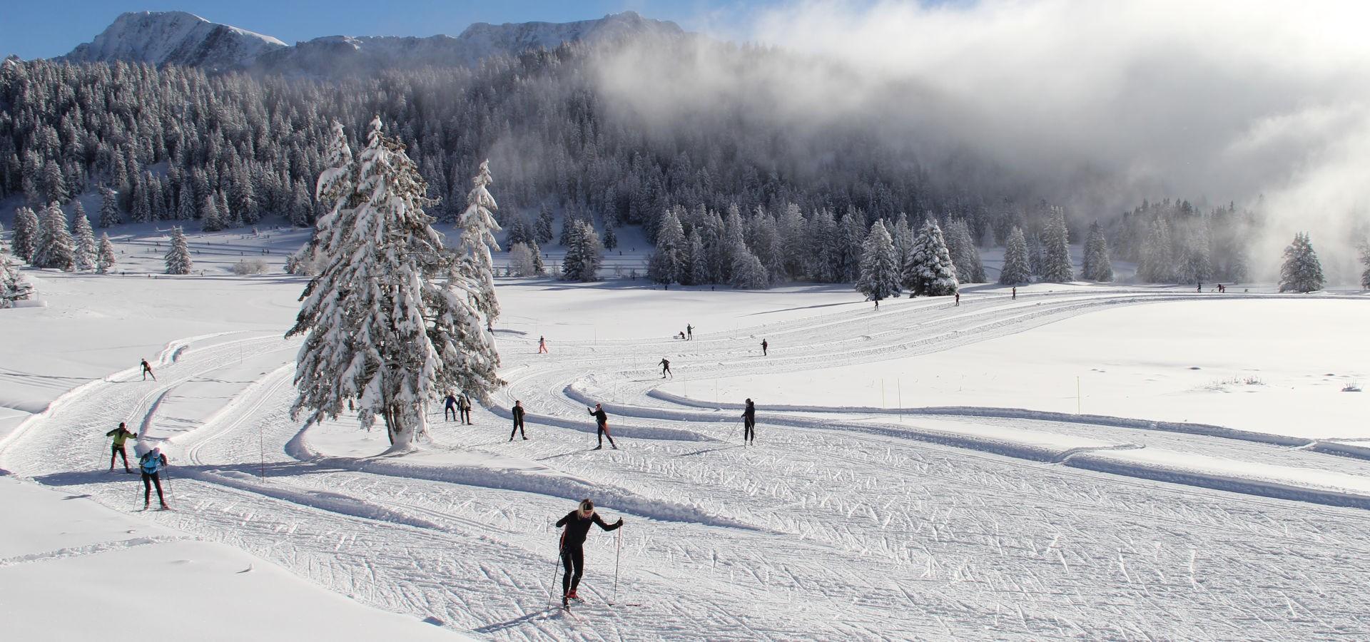Ski de fond Nordic Park Chamrousse
