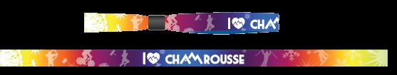 Bracelet I love Chamrousse