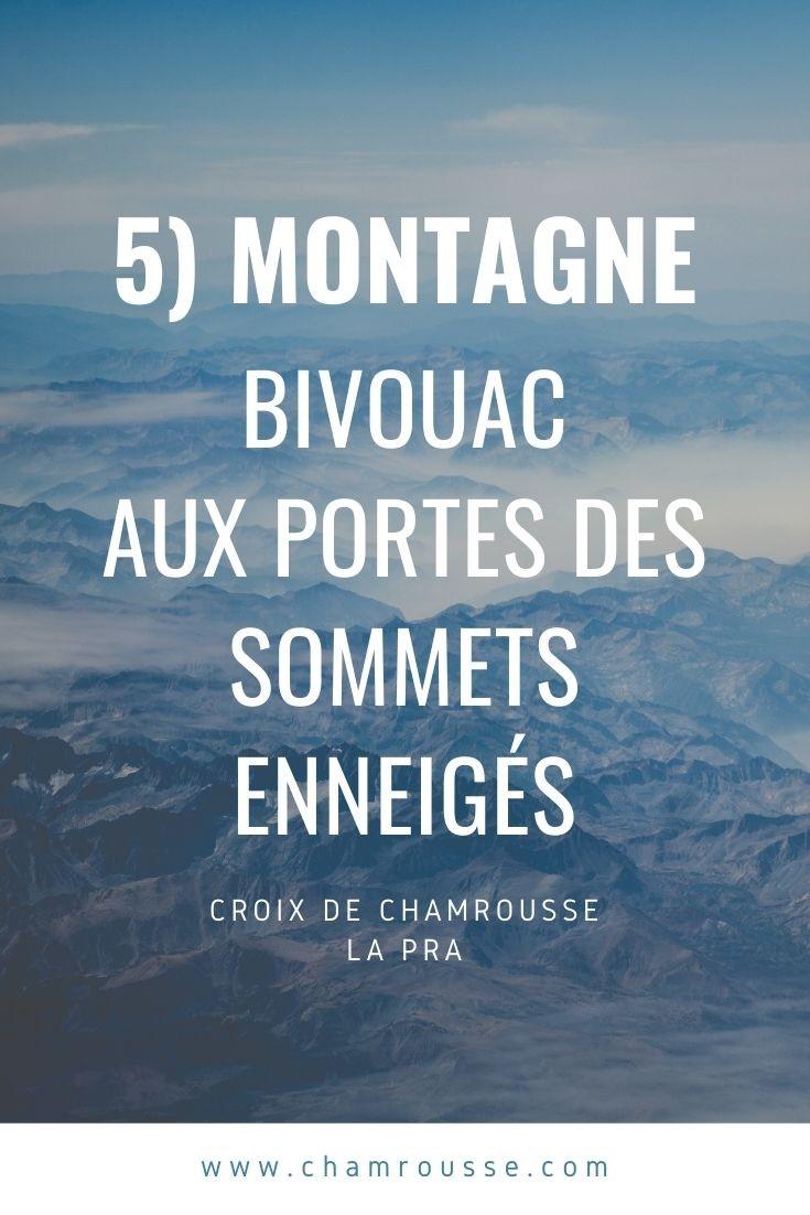 Chamrousse bivouac activité automne station montagne isère alpes france