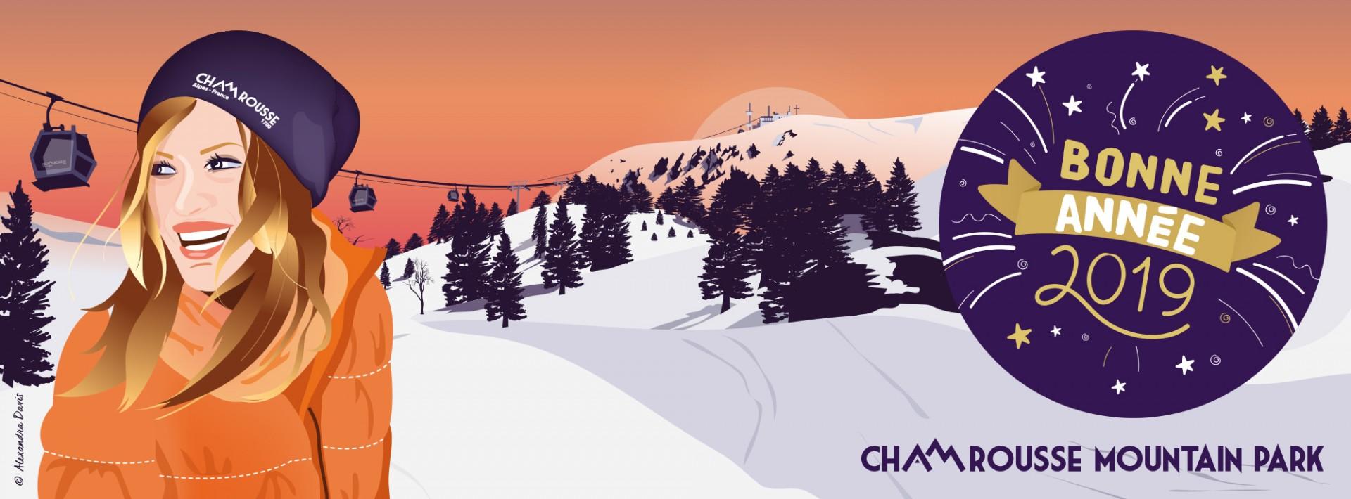 Chamrousse - Bonne année 2019