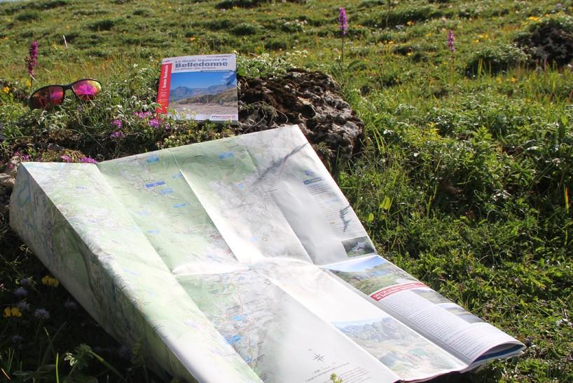 Chamrousse carte randonnée station montagne isère alpes france