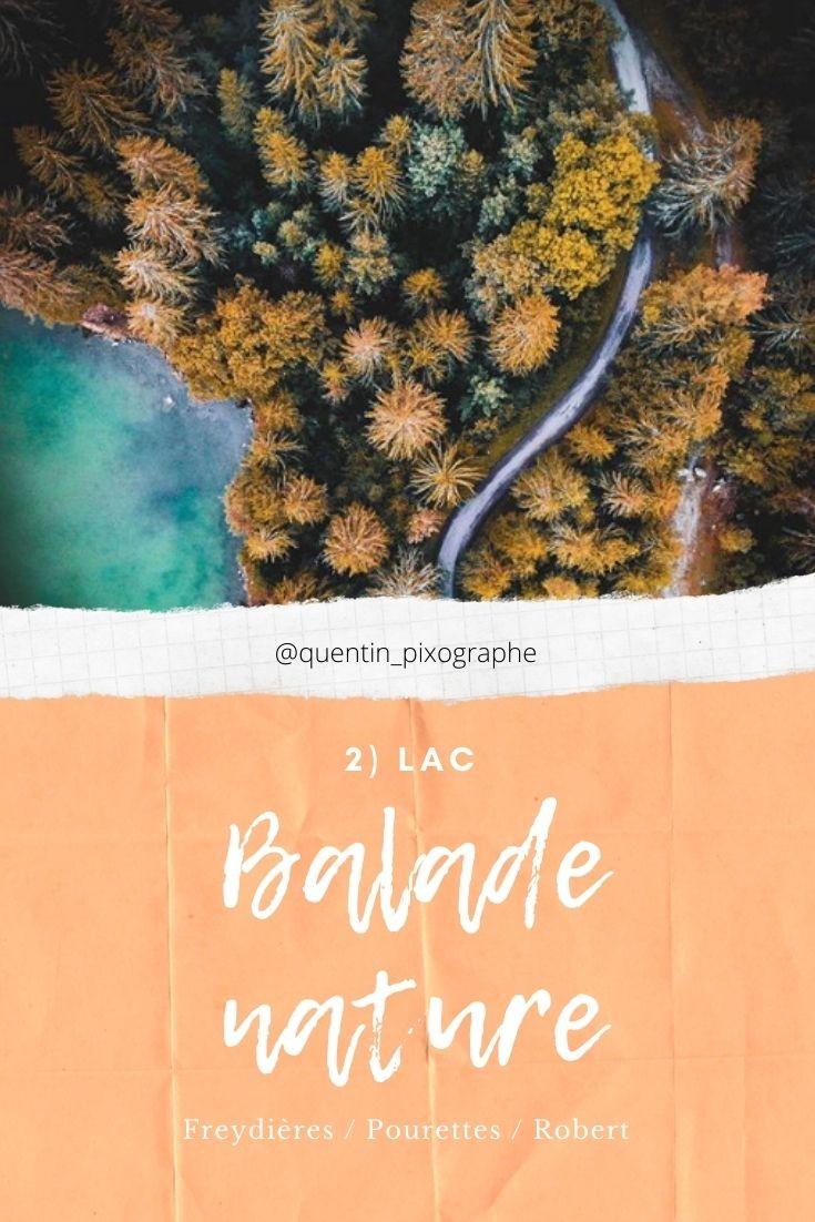 Chamrousse balade nature activité automne station montagne isère alpes france