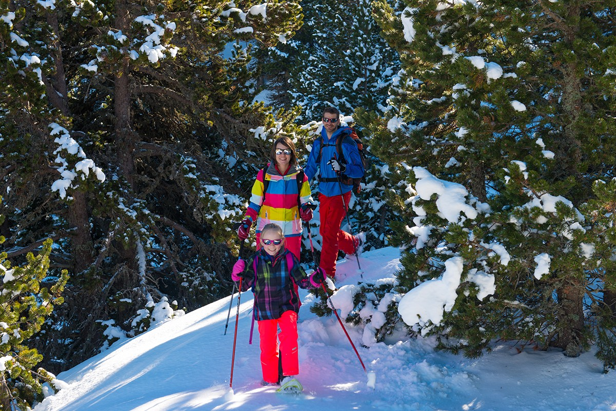 Chamrousse Nordic Park - snowshoeing