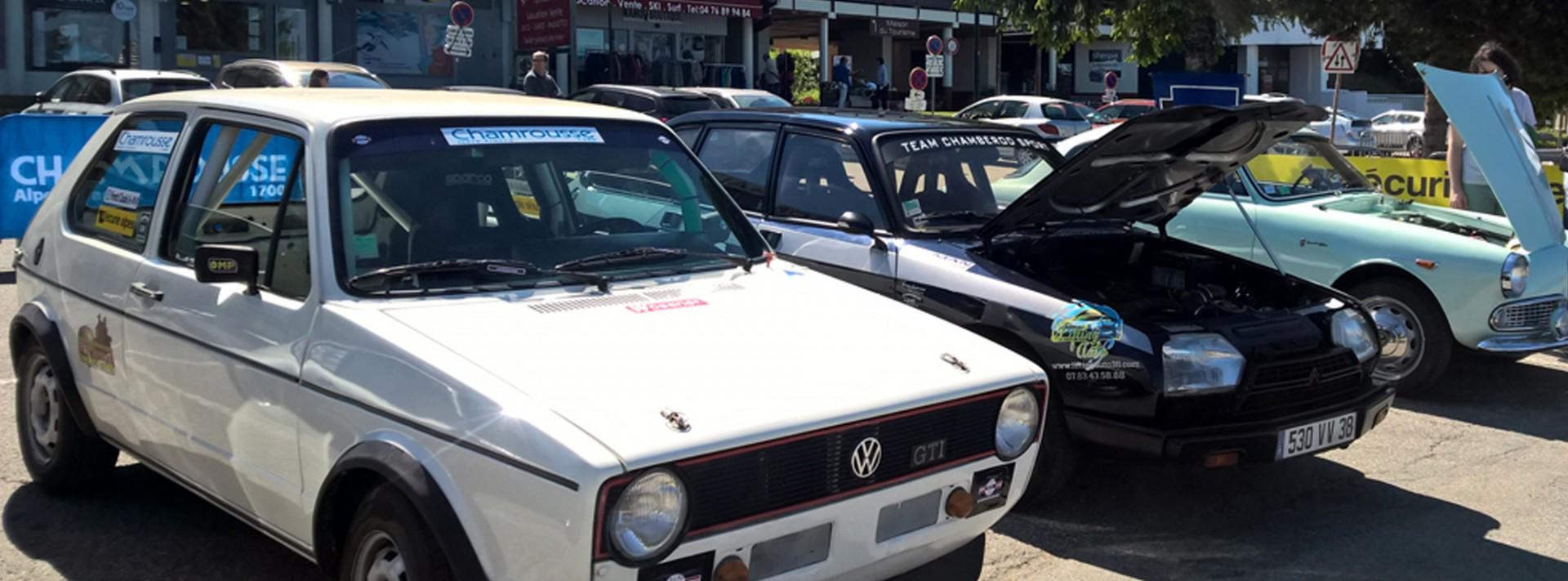 Exposition voitures anciennes et modernes Chamrousse