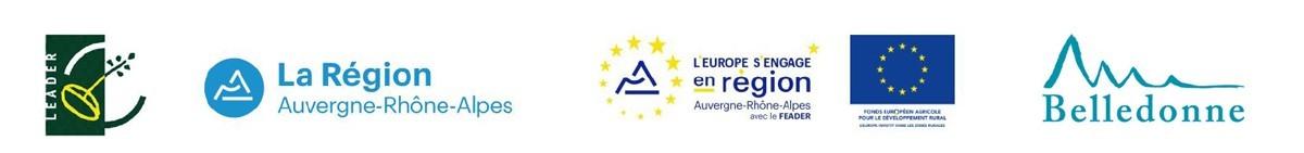 Chamrousse logos soutiens institutionnels parcours pédagogique maison environnement station montagne été isère alpes france