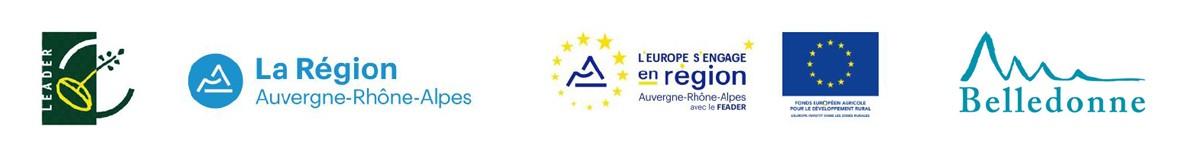 Logos soutiens institutionnels parcours pédagogique Maison environnement Chamrousse