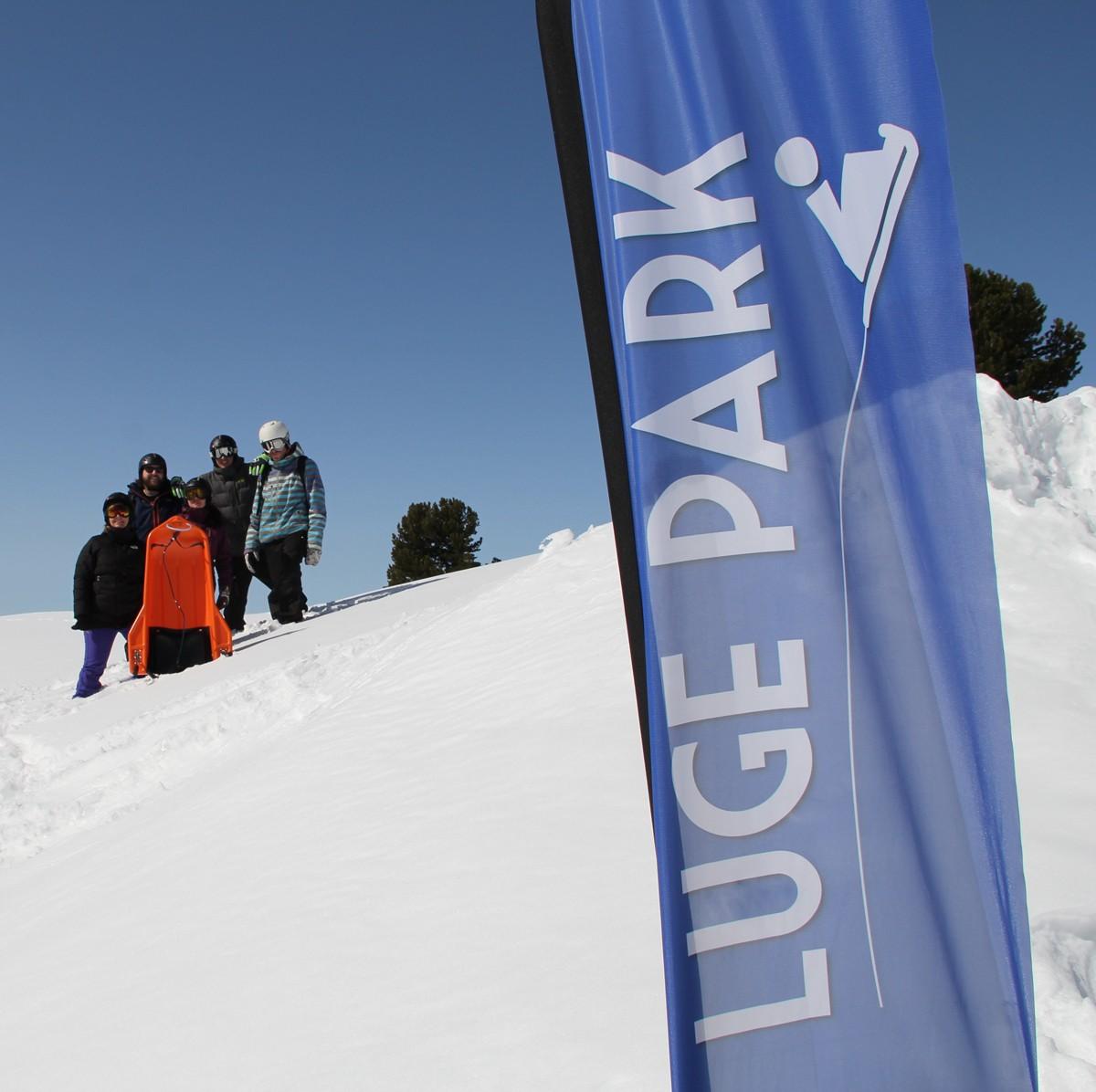 Chamrousse Luge Park entre amis station ski hiver isère alpes france