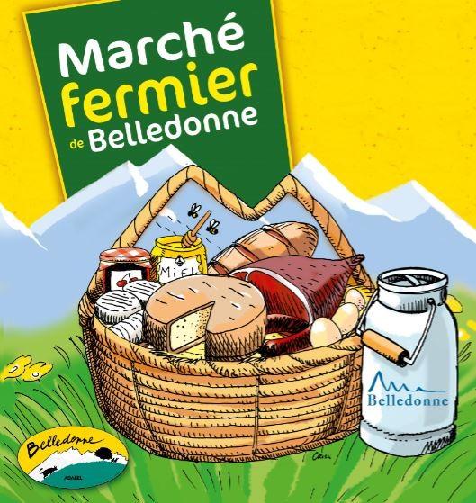 Chamrousse marchés fermiers fermes belledonne station été montagne isère alpes france