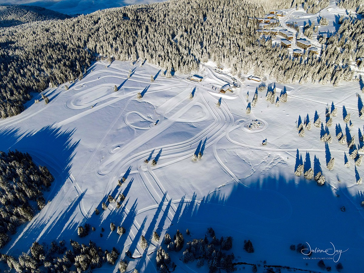 Plateau Arselle hiver Chamrousse