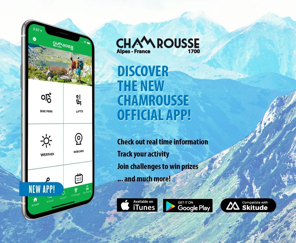 Chamrousse summer app