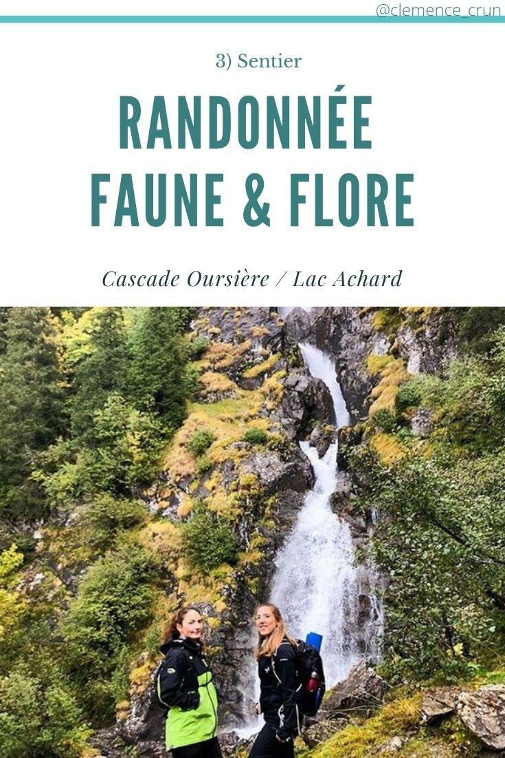 Chamrousse randonnée faune et flore activité automne station montagne isère alpes france